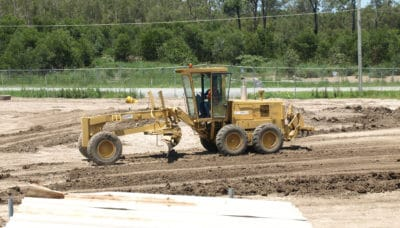 Conduct civil construction grader operations