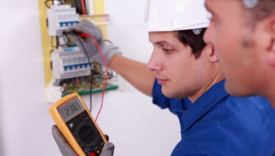 Electrical Apprenticeship Concept